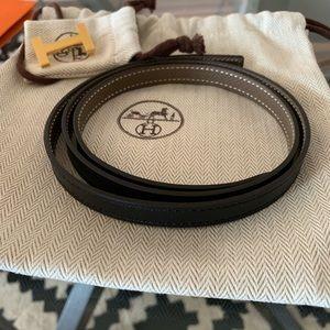 NWT Hermes Focus Buckle & Reversible 13mm Belt